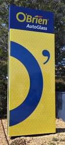 o'brien banner signage work