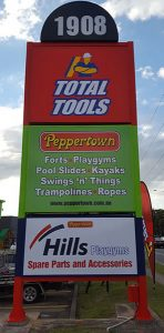 total tools signage work